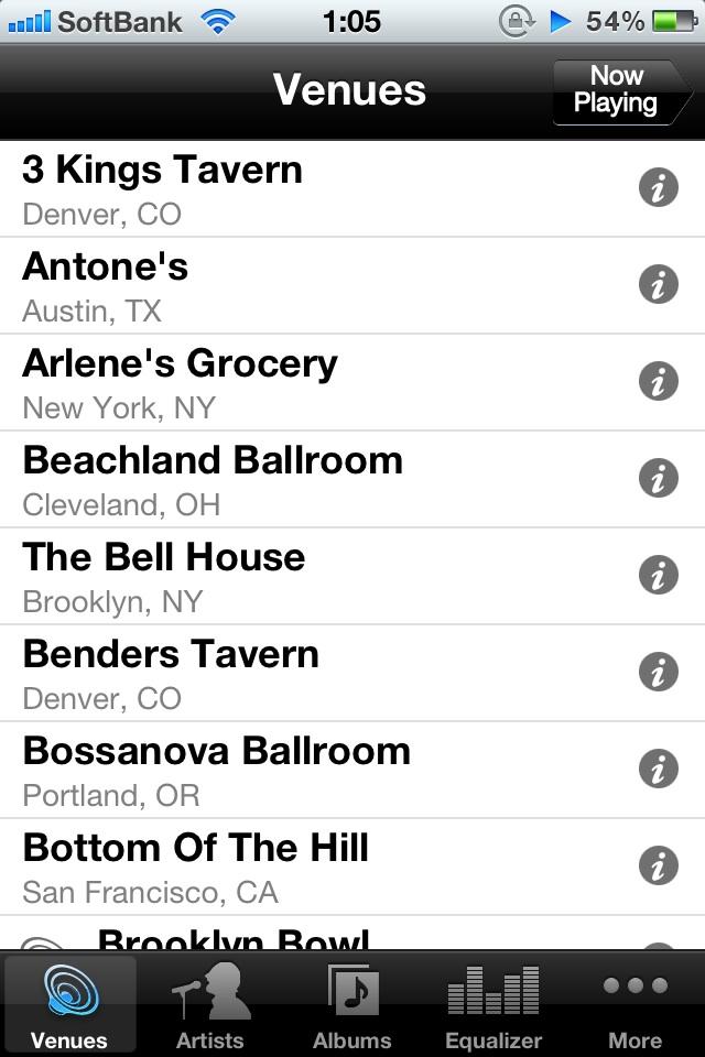 ライブのような臨場感をもたらしてくれる音楽再生アプリ。「StagePass」現在無料。