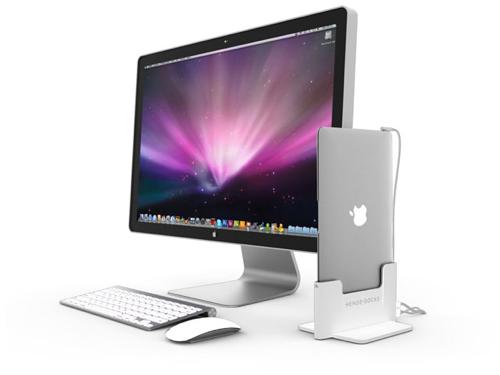 帰ってきたら立てるだけ!MacBook Airドッキングステーション!これは欲しい!