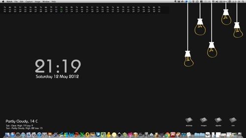 カンタン操作でMacをオシャレに!おしゃれなデスクトップ作成講座:第1回「壁紙の変更編」