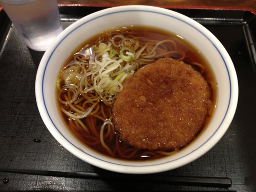 東京駅エキナカの立ち食いそばが超絶にうまかった件
