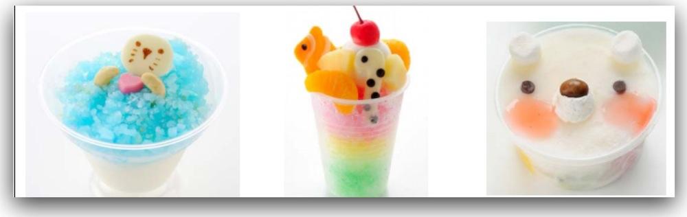 かき氷祭り2012!さまざまなかき氷を一気に楽しもう!