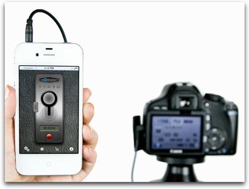 iPhoneをカメラのリモコンシャッターに変えるアプリ「ioShutter」