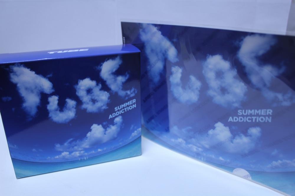 TUBEニューアルバム「SUMMER ADDICTION」初回特典版DVDとシリコーン製氷皿そしておまけクリアファイル