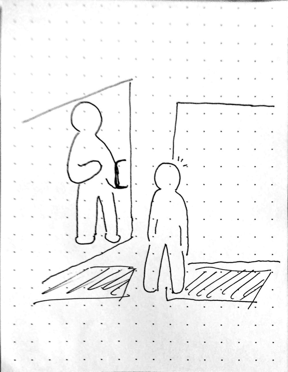 昨日(7/5)あったほっこりしたことを絵で描いてみたー大好評「描いてみたシリーズ」第2弾