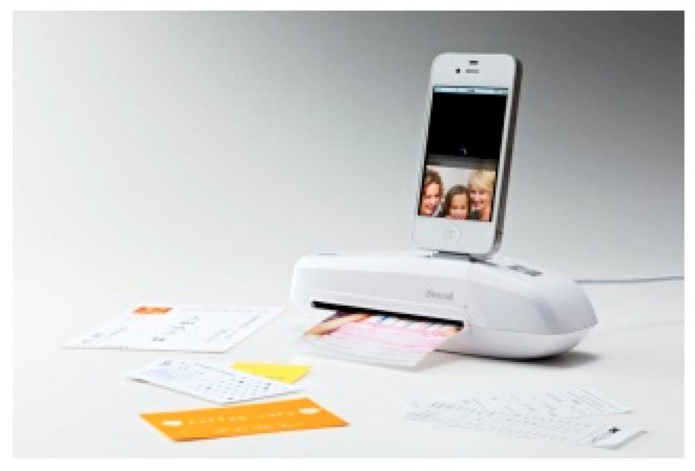 iPhoneに直接接続するスキャナー「iスキャミル ミニ」が発売される