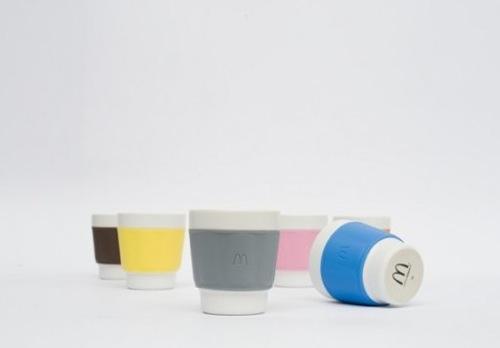 マクドナルドの再利用可能なコーヒーカップがオシャレ フランスで置き換えへ