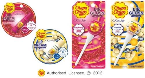 チュッパチャプスのリップクリーム&リップグロスに新しい香りが登場!