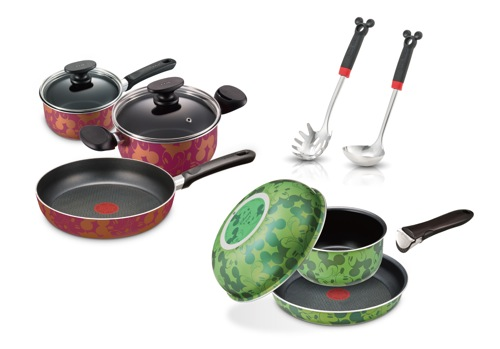 ティファール、むっちゃかわいいミッキーマウスシリーズの料理器具を発売