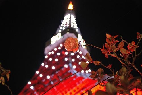 東京タワーが7/27と7/28にオリンピックカラーに!金メダル獲得時にも実施!