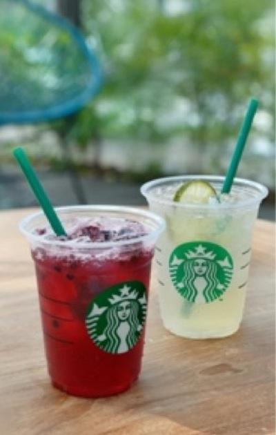 スターバックスがカフェイン入のジュース2種類を発売