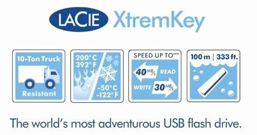 水深100m、+200℃、-50℃、10tトラック、なんでもきやがれ!高耐久USBメモリが発売