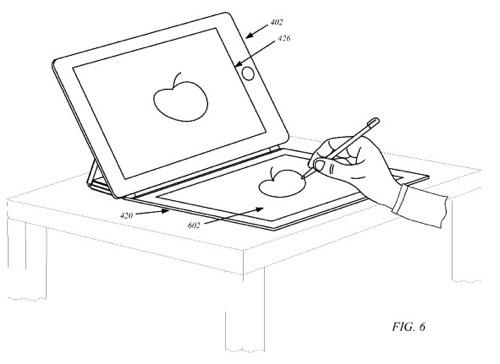 iPadのスマートカバーをセカンドディスプレイにする技術、Appleが特許出願中