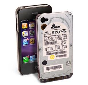 PC自作が大好きな人のためのiPhoneケース。特にむき出しのHDDに興味ある人は是非