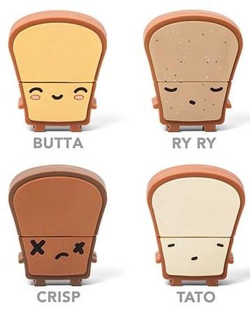 トースト型のUSBメモリーとトースター型USBハブを抱きしめたい