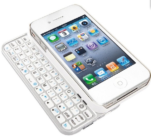 AmazonでiPhone4S/4用ケース型Bluetoothキーボードが86%オフ1000円の超特価!買うしかない!