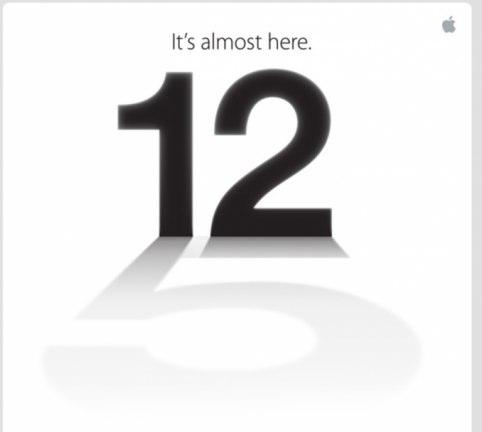 Apple,12日に発表会開催を発表。招待状には「5」の文字。iPhone5発表へ