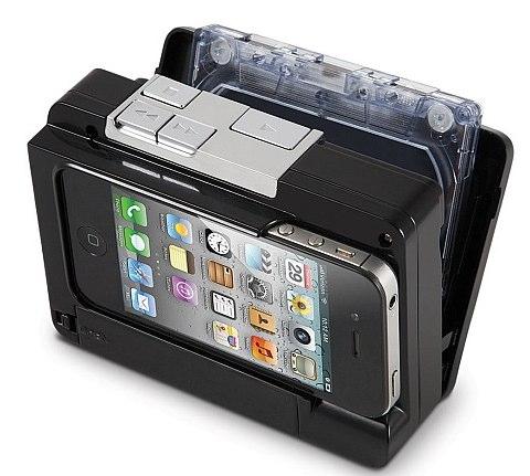 カセットテープ音源を直接デジタル化できるiPhoneケースが登場