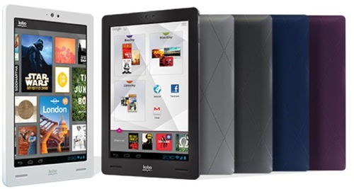 電子ブックリーダー「Kobo」の新モデル3機種が発表、Android4.0搭載機種も