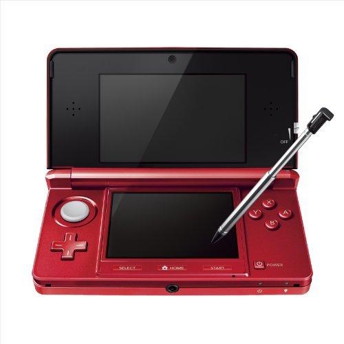 NINTENDO 3DSフレアレッドが「近日生産終了予定」に。欲しい方はお早めに!