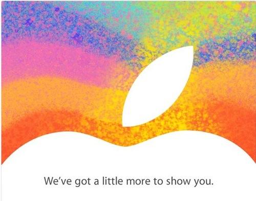 【速報】Apple、新製品発表会を10月23日(日本時間10月24日午前2時)に行うことを公式発表:招待状には「We've got a little more to show you.」