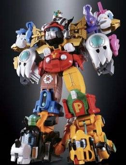 ディズニーキャラクターが超合金に。しかも合体して巨大ロボになるらしい