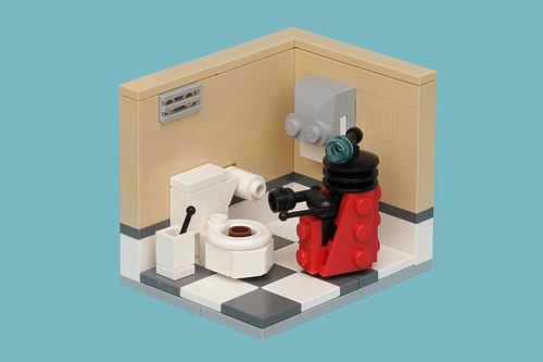 公衆トイレがホテルに変身