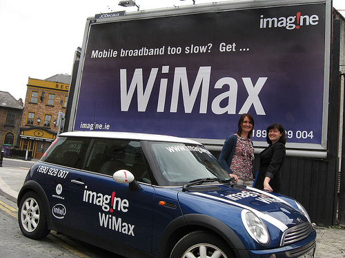 なんと、次世代WiMAXにLTE互換モード追加!生き残りに必死みたいです