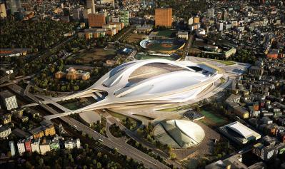 新しい国立競技場のデザイン決定!