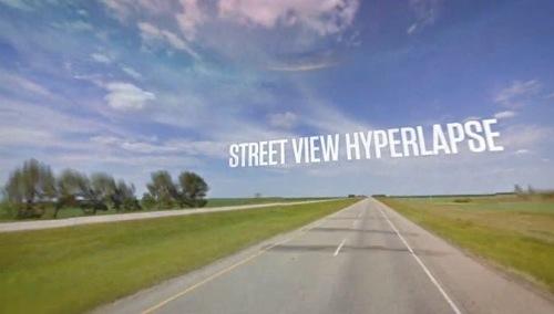 ストリートビューを高速でスライド・ショーさせた微速度撮影映像が美麗