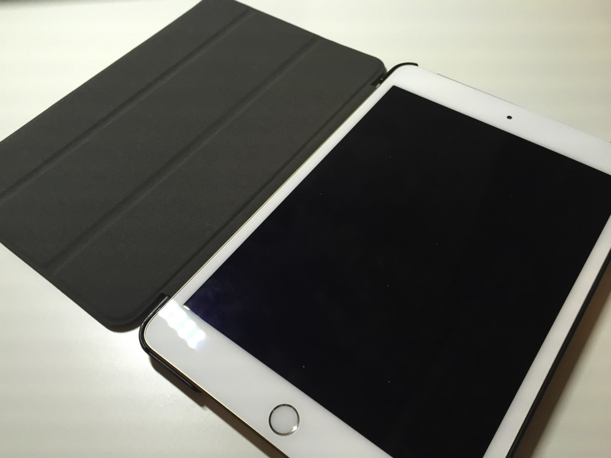 iPad mini 4ケースレビュー。激安ケースを買ってみたらお値段以上だった!