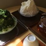 箱根「茶のちもと」のふわとろ濃厚かき氷。お客さん全員が「うまい!」と言う逸品です
