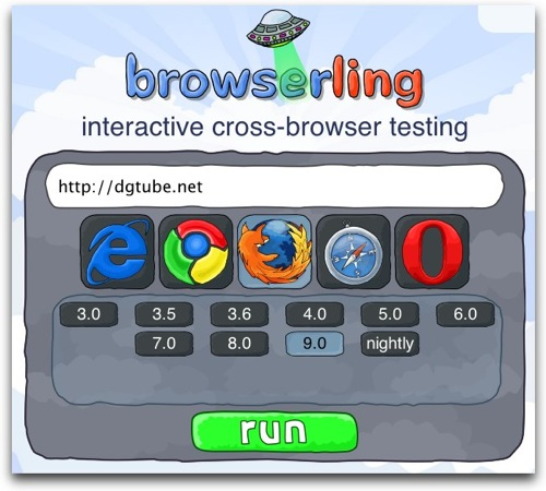 Browserling  interactive cross browser testing