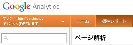 ページ解析  Google Analytics 4