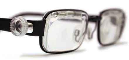 自分で調整できるメガネ