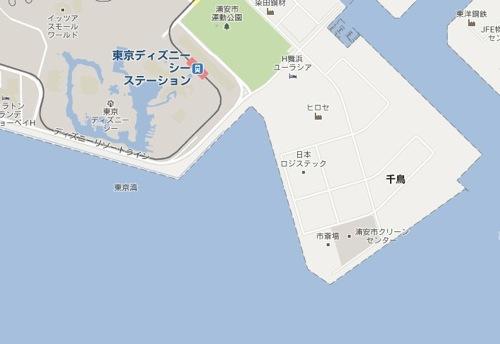 浦安市  Google マップ