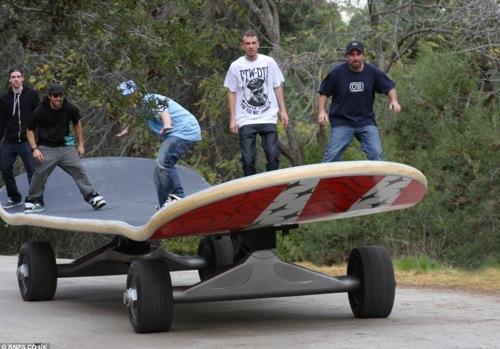 世界最大のスケートボード