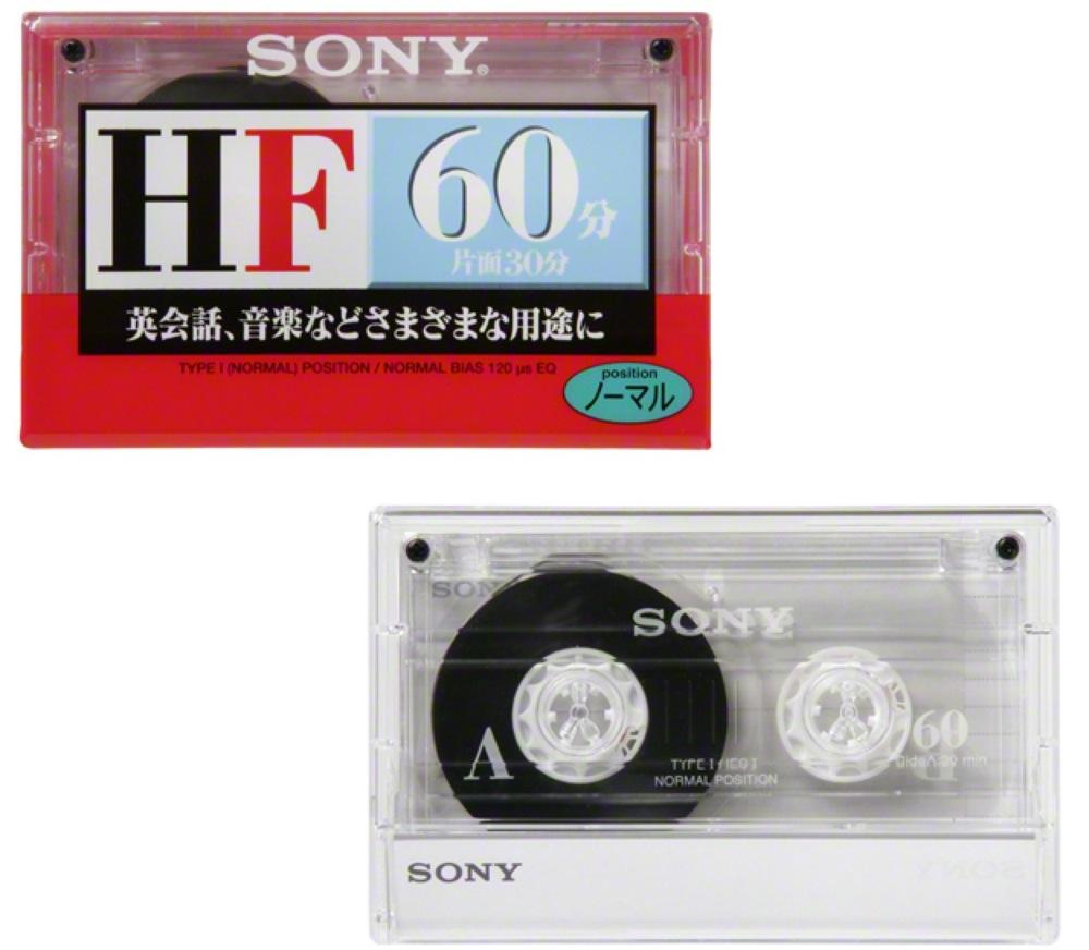 sonyカセットテープ新商品