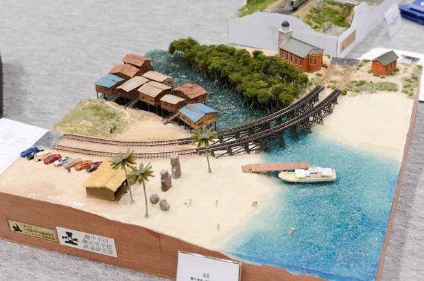 灘高校の鉄道模型