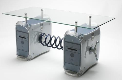 PowerMacを使ったコーヒーテーブル