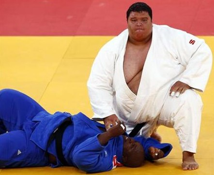 218kgの柔道選手