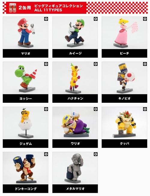 マリオカートフィギュアコレクション