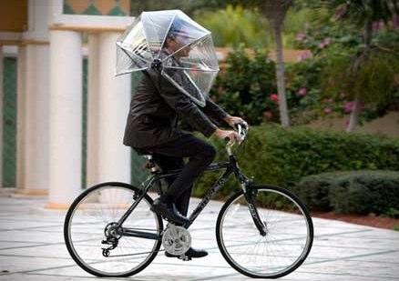 ハンズフリー傘