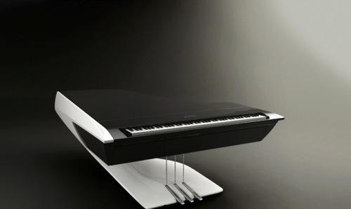 プジョーデザインのピアノ