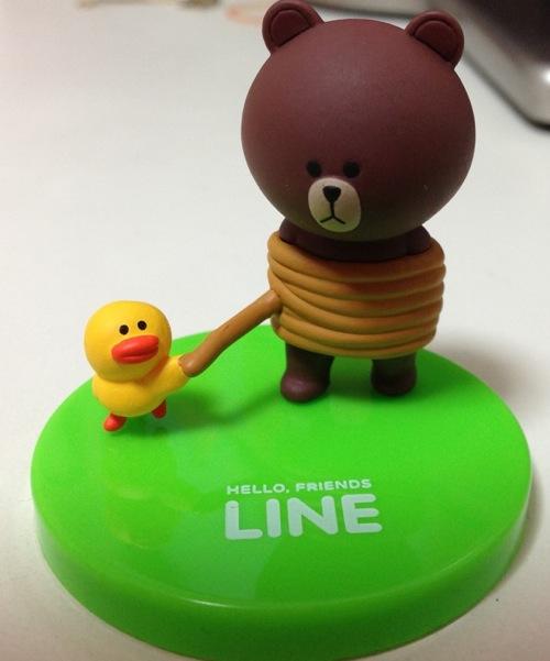 LINEブラウンフィギュア