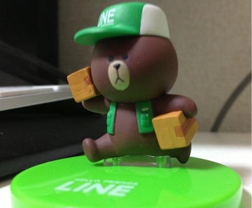 LINE CHARACTER フィギュアコレクションガチャガチャ